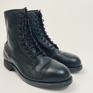 1979'S MEN'S UNISSUED STEEL TOE COMBAT BOOT